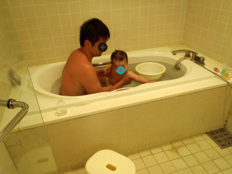 レオパレスリゾート グアム お風呂