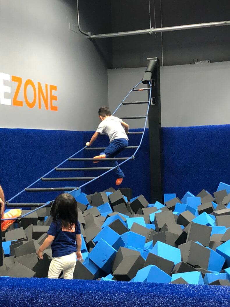 SKY ZONE challenge ZONE2