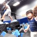 子供も大人も楽しめる室内トランポリン施設『 SKY ZONE 』で汗だく【2017/グアムVol.15】