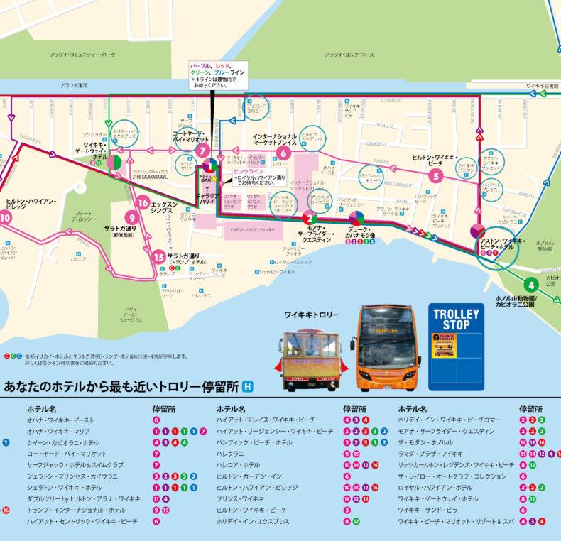 ピンクライントロリー RTCC ホテル コンドミニアム MAP