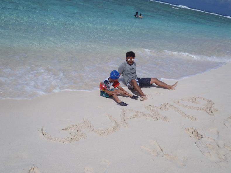 リティディアンビーチ グアム ビーチ 一番きれい