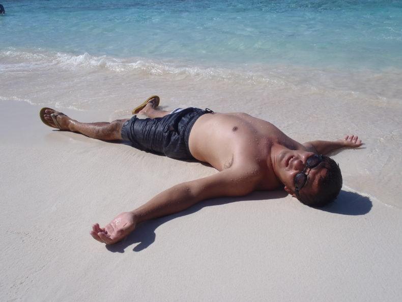 リティディアンビーチ グアム ビーチ 一番きれい トド