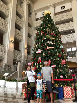 レオパレスリゾートグアム クリスマス ツリー