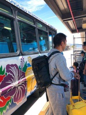 エアアジア AirAsia ハワイアン航空 乗継 時間 ハワイ ホノルル マウイ カフルイ