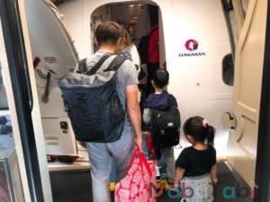 エアアジア AirAsia ハワイアン航空 乗り継ぎ ハワイ ホノルル マウイ カフルイ