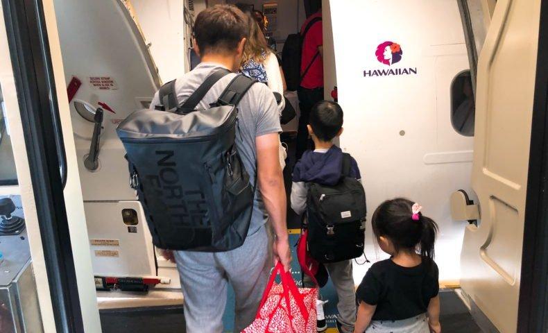 エアアジア AirAsia ハワイアン航空 乗継 ハワイ ホノルル マウイ カフルイ