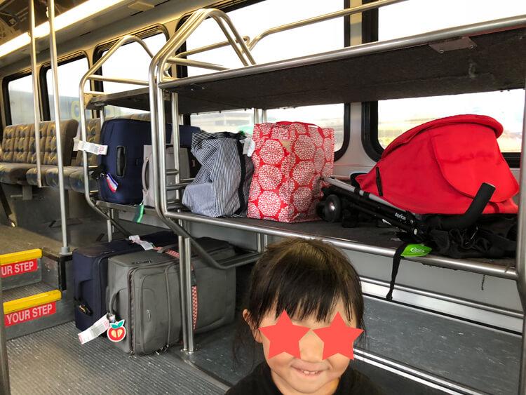 カフルイ空港 レンタカー OGG  Alamo ハワイ マウイ島 シャトルバス