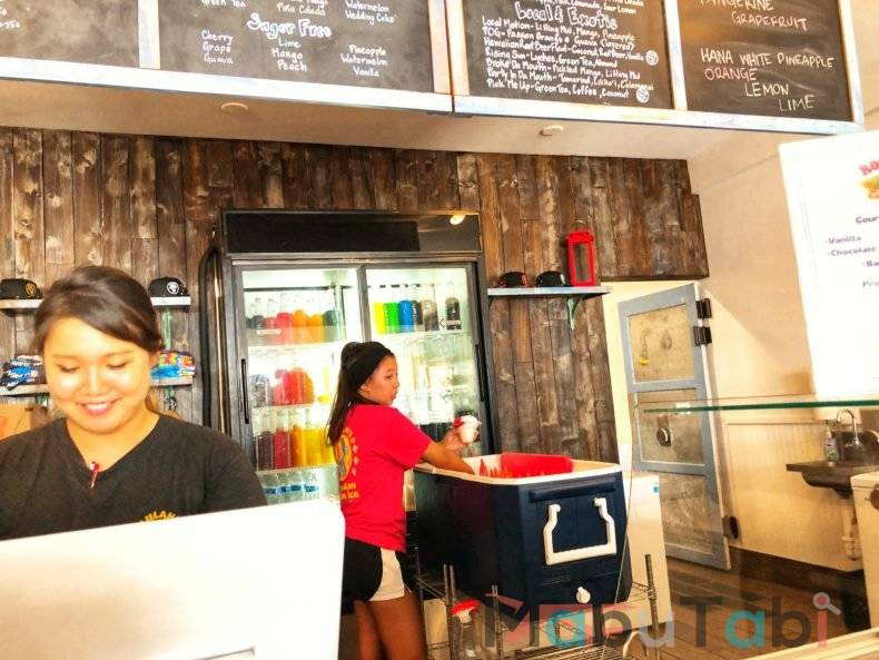 ウルラニズ ハワイアンシェイブアイス パイア店